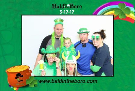 St Baldrick's Bald in the Boro @ LTA Depot