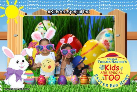 Thelma Harper's Annual Easter Egg Hunt
